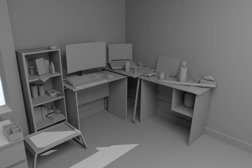 3D Replica, Room