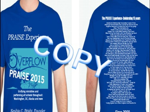 PRAISE Experience T-shirt (15 year memorabilia)