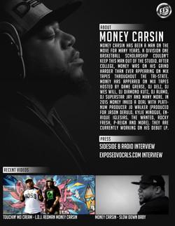 Money Carsin EPK
