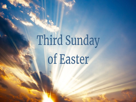 Third Sunday of Easter Bulletin - April 26, 2020