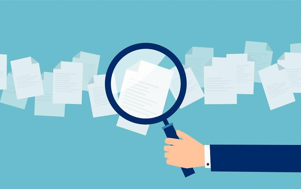 Documentação em e-mail empresarial