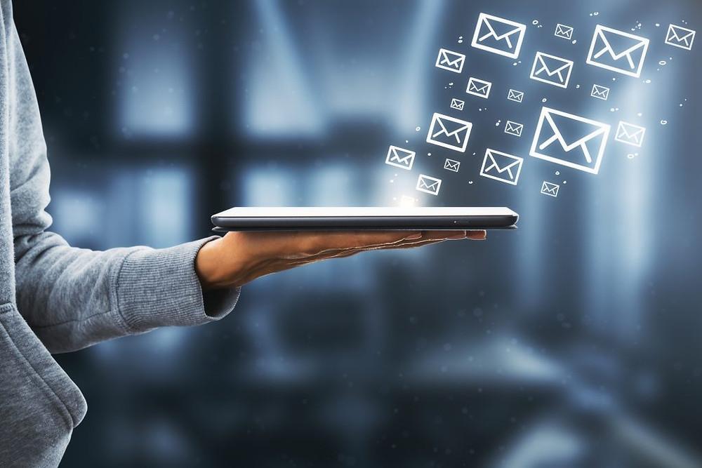 imagem representando a auditoria de e-mails como o MxGateway