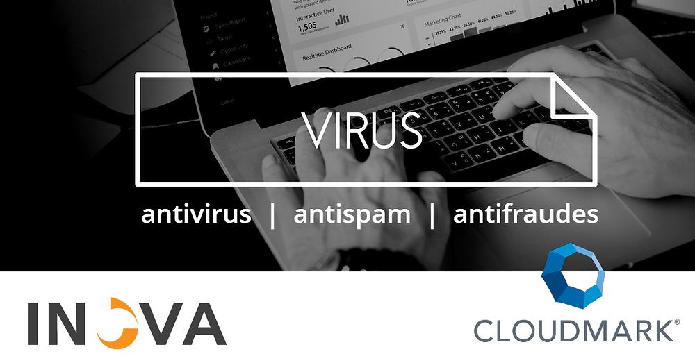 CloudMark - Antivírus | Antispam | Antifraudes by rawpixel.com