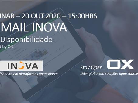 Webinar sobre a Alta Disponibilidade do OXMAIL INOVA