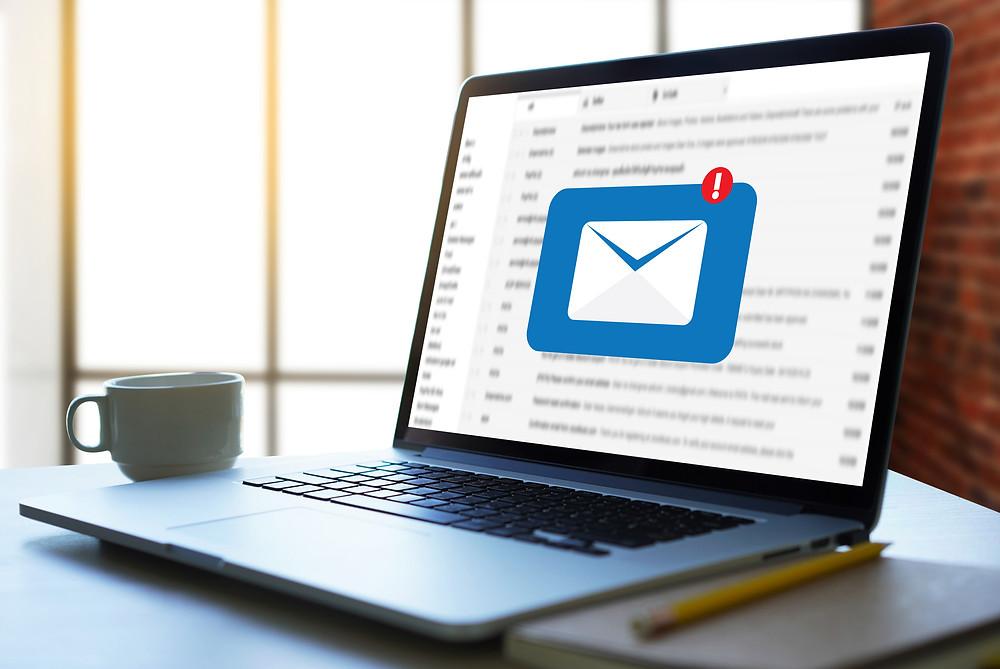 e-mail caixa de entrada