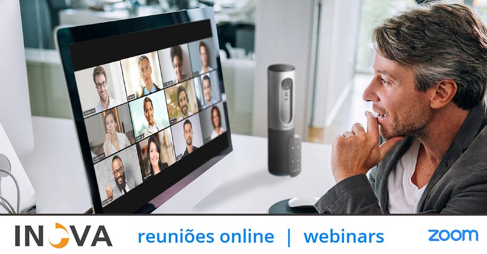 Zoom Inova | Reuniões Online e Webinars - by rawpixel.com