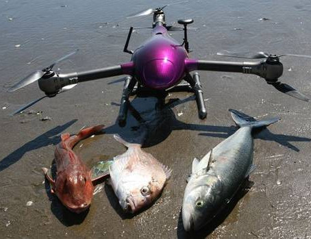 Fishing: Raptor drone just for taking long-lines out to sea