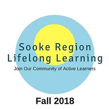 Fall 2018 Sooke Region Lifelong Learning