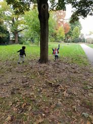 Buiten spelen - lekker rennen