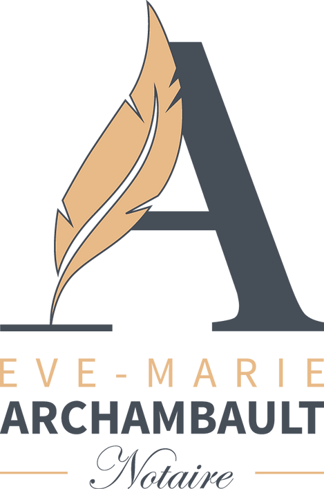 Logo Me Eve-Marie Archambault, notaire