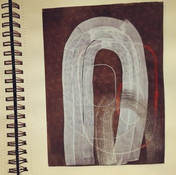 Proceso creativo para la serie TÓRAX by Irene G. Barrera