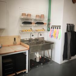 Tools & Washing Area