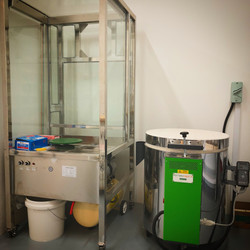 Spray Booth & Kiln