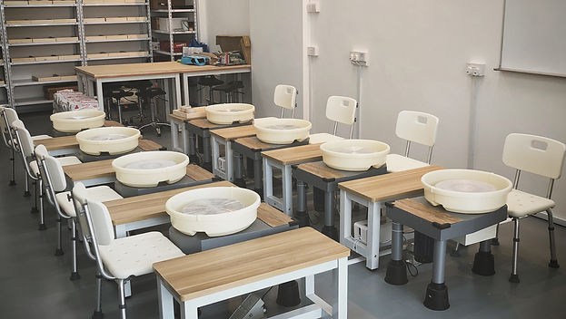 studio practice package, pottery studio rental, potter's wheel