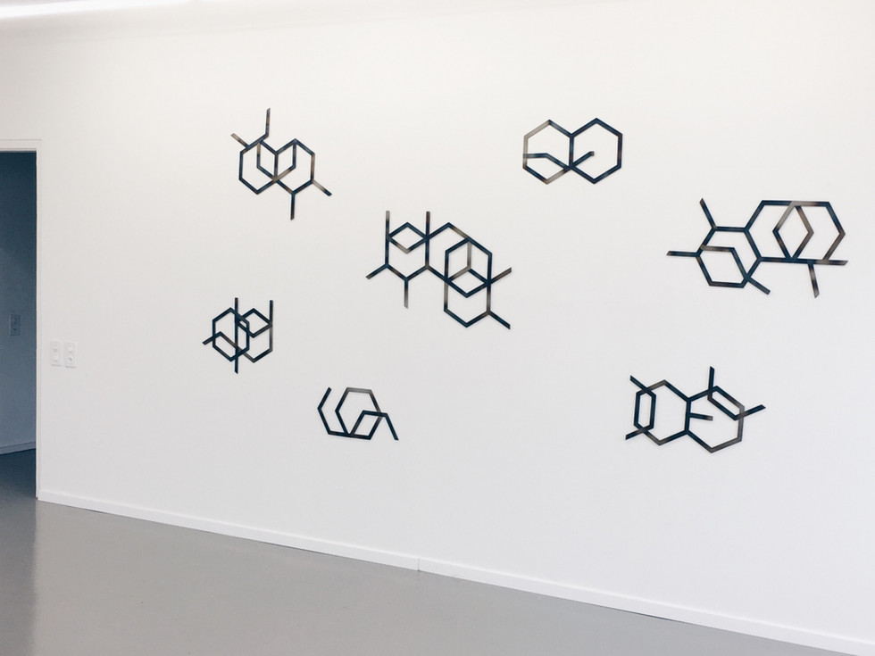 From six to seven (geometric colors) - Galerie balzer projects