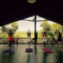 Yoga tomorrow morning at 8.30am _The Cre