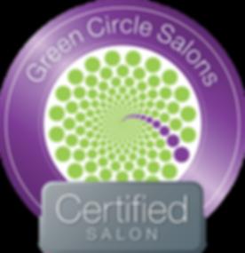 Certifid Green Circle Salon