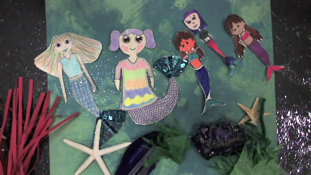 Animation made by Kids' band, Lavendar Ladies, at the GRR Camp