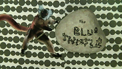 Animation made by kids' band, The Blue Thistle, at the GRR camp