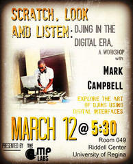 Workshop with Dr Mark Campbell