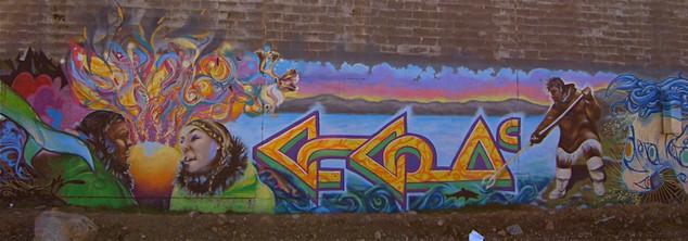 Iqaluit graffiti