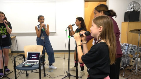 Creating Access to Instruments, Mentorship, and Space. Video 1 min 41sec, 2020