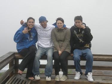 Keena, Ryan, Charity, Ethan at Soundshift