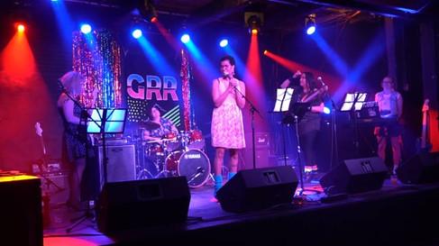 Girls Rock Regina 80's night