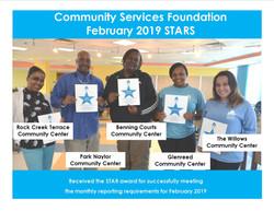 February 2019 Stars