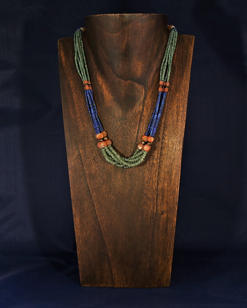 Jade and Lapis Necklace