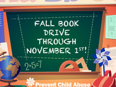 PCAD_Fall Book Drive
