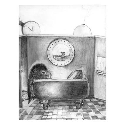 Rabbit In The Bathtub