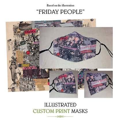 Friday People Custom Mask