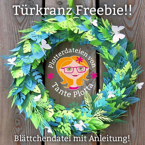 """FREEBIE Plotterdatei """"Türkranz"""""""