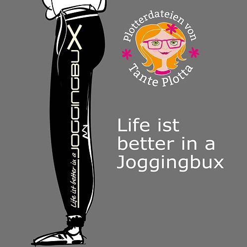 """Plotterdatei """"Joggingbux"""""""