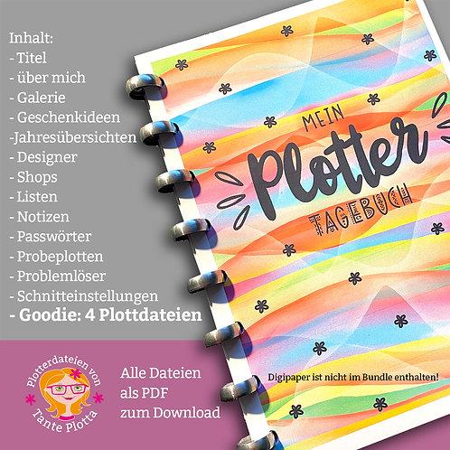 Plottertagebuch zum Download und selbst Ausdrucken