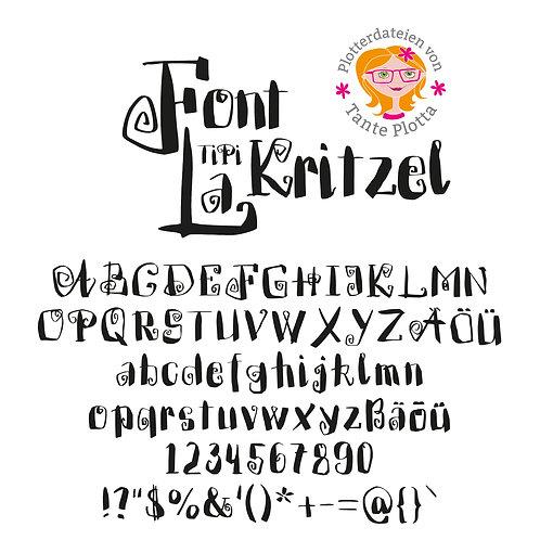 """Font """"TiPiLaKritzel"""""""