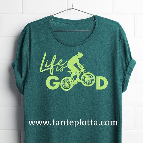 """Plotterdatei """"Life is good"""""""