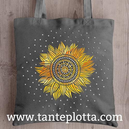 """Plotterdatei """"Sonnenblume"""" in 2 Varianten"""