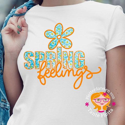 "Plotterdatei ""Spring Feelings"""