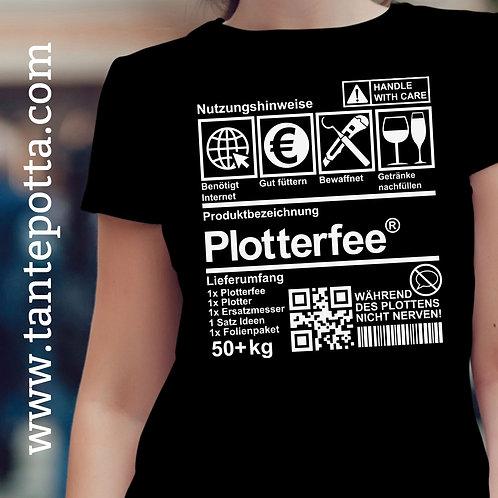 """Plotterdatei """"Plotterfee"""" Produktlabel"""