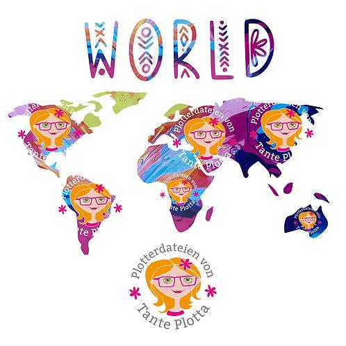 """Plotterdatei """"World"""""""