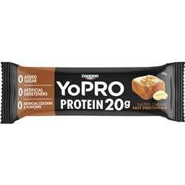 Danone Yopro Protein 20g Salted Caramel Nut Protein Bar 68g