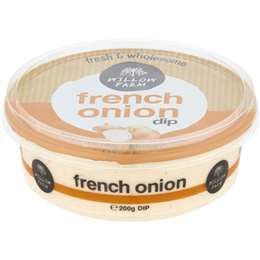 Willow Farm Dip French Onion 200g