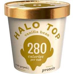 Halo Top Vanilla Bean Frozen Dessert 473ml