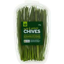 Chives Fresh Herb 10g punnet