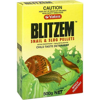Yates Blitzem Garden Snail & Slug Pellets 500g