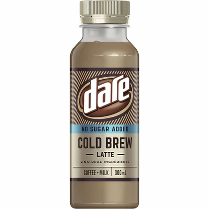 Dare Cold Pressed Iced Coffee Latte 300ml