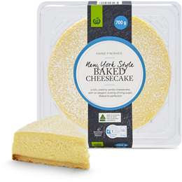 New York Style Baked Cheesecake 700g