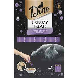Dine Creamy Treats Mixed Seafood 4 pack